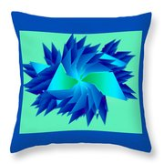 Abstract Chill Throw Pillow
