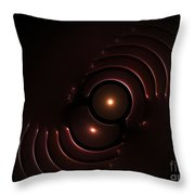 Abstract Chromeart Throw Pillow