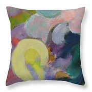 Abstract Close Up 15 Throw Pillow