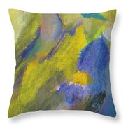 Abstract Close Up 2 Throw Pillow