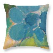 Abstract Close Up 9 Throw Pillow