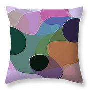 Abstract Collection 018 Throw Pillow