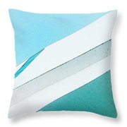 Abstract Color Of Architecture Throw Pillow