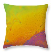 Abstract Colours  Throw Pillow