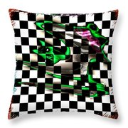 Abstract Composition 506 Throw Pillow