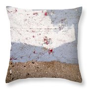 Abstract Concrete 13 Throw Pillow