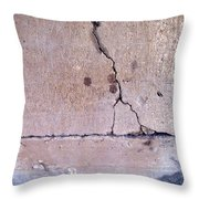 Abstract Concrete 3 Throw Pillow