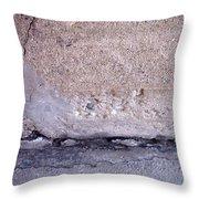 Abstract Concrete 4 Throw Pillow