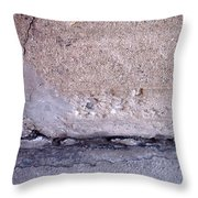 Abstract Concrete 4 Throw Pillow