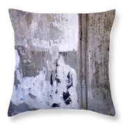 Abstract Concrete 9 Throw Pillow