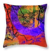 Abstract Configuration Throw Pillow