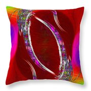 Abstract Cubed 233 Throw Pillow