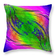 Abstract Cubed 234 Throw Pillow