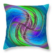 Abstract Cubed 261 Throw Pillow