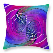 Abstract Cubed 262 Throw Pillow