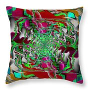 Abstract Cubed 275 Throw Pillow