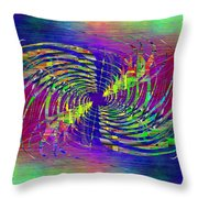 Abstract Cubed 298 Throw Pillow