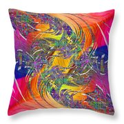 Abstract Cubed 314 Throw Pillow