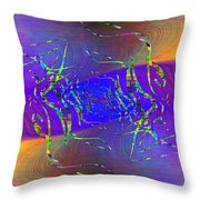 Abstract Cubed 316 Throw Pillow