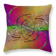 Abstract Cubed 317 Throw Pillow
