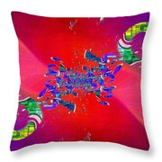 Abstract Cubed 344 Throw Pillow