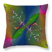 Abstract Cubed 356 Throw Pillow
