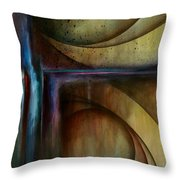 Abstract Design 26 Throw Pillow