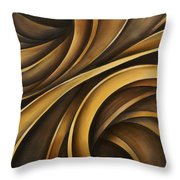 Abstract Design 34 Throw Pillow by Michael Lang