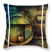 Abstract Design 4 Throw Pillow