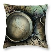 Abstract Design 45 Throw Pillow