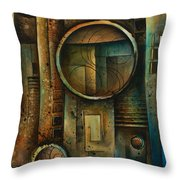 Abstract Design 64 Throw Pillow