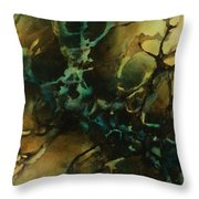 Abstract Design 86 Throw Pillow by Michael Lang