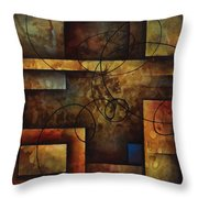 abstract design  A Throw Pillow