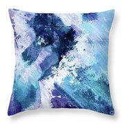 Abstract Division - 72t02 Throw Pillow