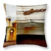 Abstract Dock Throw Pillow