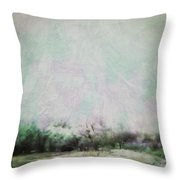 Abstract Down The Road Throw Pillow