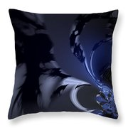 Abstract Dragon Wings Throw Pillow
