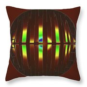 Abstract Elements 715 Throw Pillow