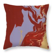 Abstract Ex Throw Pillow