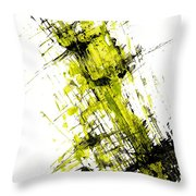 Abstract Expressionism Painting 55.102411 Throw Pillow