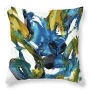 Abstract Expressionism Painting Series 715.102710 Throw Pillow