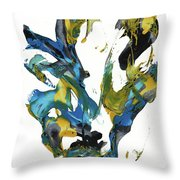 Abstract Expressionism Painting Series 716.102710 Throw Pillow
