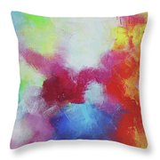 Abstract Expressions Throw Pillow