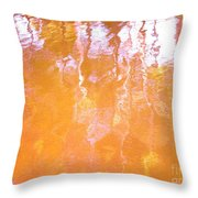 Abstract Extensions Throw Pillow