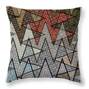 Abstract Floor  Throw Pillow