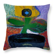 Abstract Floral Art 115 Throw Pillow