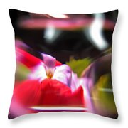 Abstract Flowers Part Two Throw Pillow
