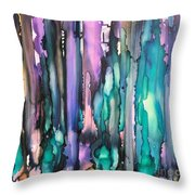 Seeing The Forest Through The Trees Throw Pillow