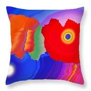 Abstract Fortaleza 2 Throw Pillow
