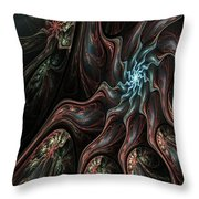 Abstract Fractal 050810 Throw Pillow